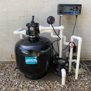 pool pump assembly